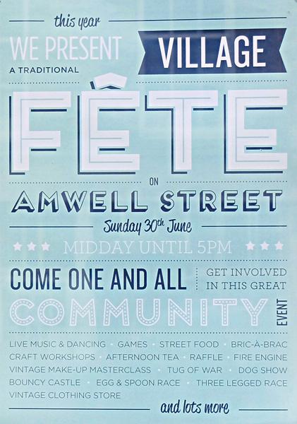 Amwell village fete 2013